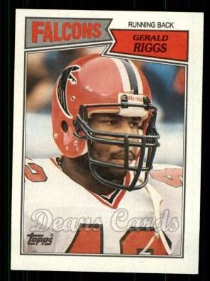 1987 Topps #250  Gerald Riggs