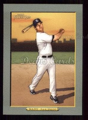2005 Topps Turkey Red #67  Xavier Nady