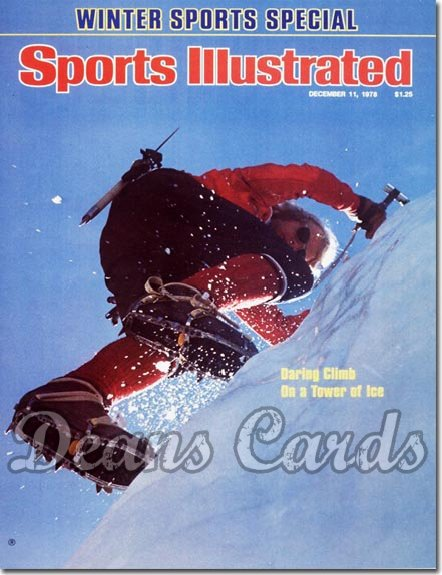 1978 Sports Illustrated - With Label   December 11  -  Jeff Lowe (Mountain Climbing)