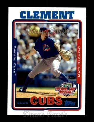 2005 Topps Opening Day #87  Matt Clement