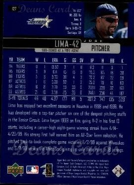 2000 Upper Deck #127  Jose Lima