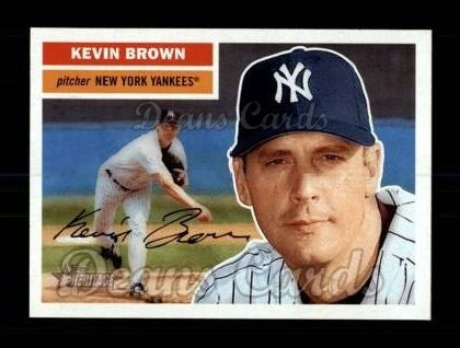 2005 Topps Heritage #161  Kevin Brown