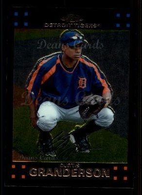 2007 Topps Chrome #133  Curtis Granderson