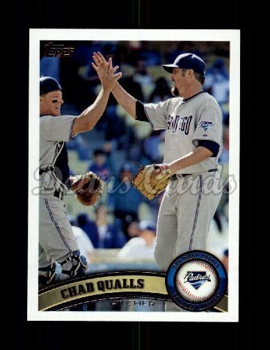 2011 Topps Update #263  Chad Qualls