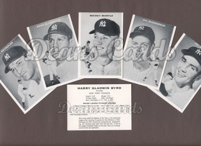 1954 Topps Sports Illustrated Reprint    Topps Sports Illustrated Cards Reprint Complete Set