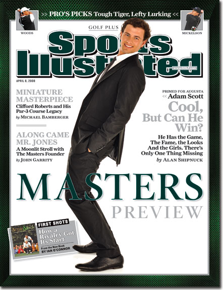 2008 Sports Illustrated   April 8  -  Golf Plus