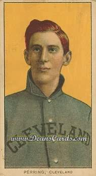 1909 T206 Reprint #386  George Perring