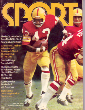 1972 Sport Magazine   -  Larry Brown  January