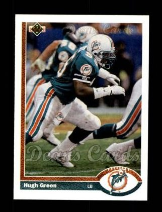 1991 Upper Deck #537  Hugh Green