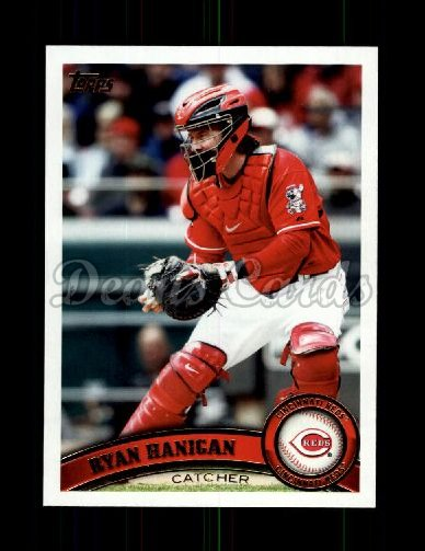 2011 Topps Update #96  Ryan Hanigan