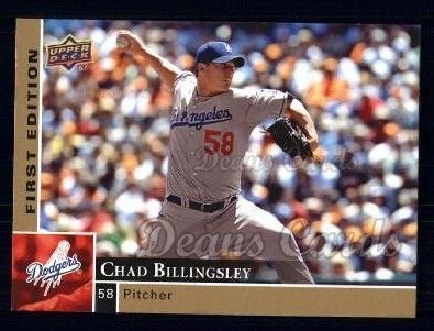 2009 Upper Deck First Edition #149  Chad Billingsley