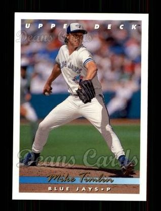 1993 Upper Deck #322  Mike Timlin