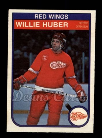 1982 O-Pee-Chee #85  Willie Huber