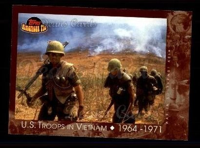 2001 Topps American Pie #125   U.S. Troops in Vietnam
