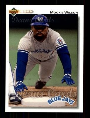 1992 Upper Deck #391  Mookie Wilson