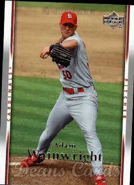2007 Upper Deck #954  Adam Wainwright