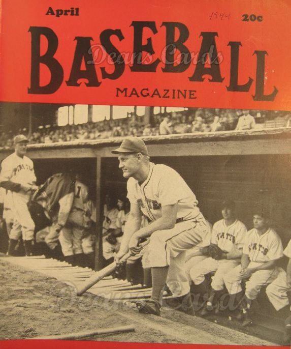 1944 Baseball Magazine    April