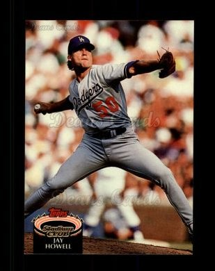 1992 Topps Stadium Club #457  Jay Howell