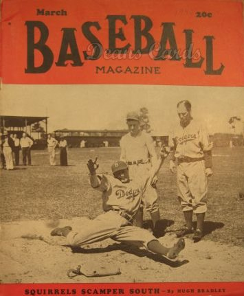 1940 Baseball Magazine    March