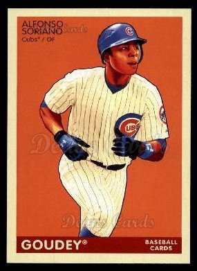 2009 Upper Deck Goudey #40  Alfonso Soriano