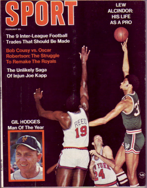 1970 Sport Magazine   -  Kareem Abdul-Jabbar / Willis Reed  February
