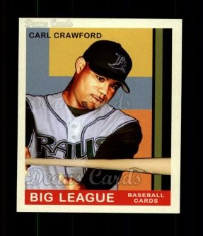 2007 Upper Deck Goudey Red Backs #165  Carl Crawford