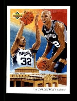 1992 Upper Deck #56   -  Sean Elliott Spurs Team