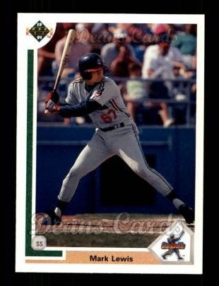 1991 Upper Deck #17  Mark Lewis