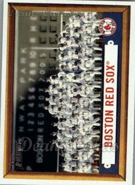 2006 Topps Heritage #322   Boston Red Sox Team