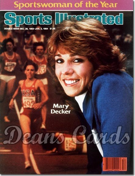 1983 Sports Illustrated - No Label   December 26  -  Mary Decker (Sportsman/Sportswomanofthe Year)