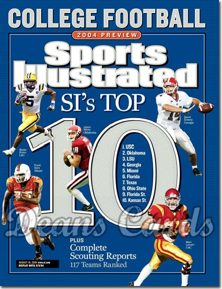 2004 Sports Illustrated   August 16  -