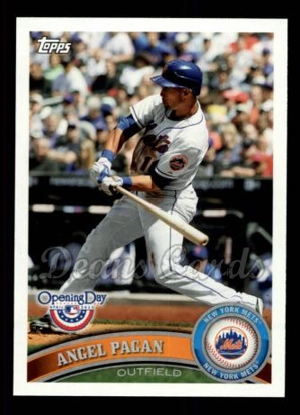2011 Topps Opening Day #98  Angel Pagan