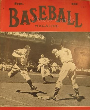 1938 Baseball Magazine    September