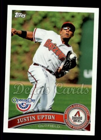 2011 Topps Opening Day #18  Justin Upton