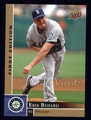 2009 Upper Deck First Edition #255  Erik Bedard