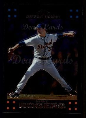 2007 Topps Chrome #219  Kenny Rogers