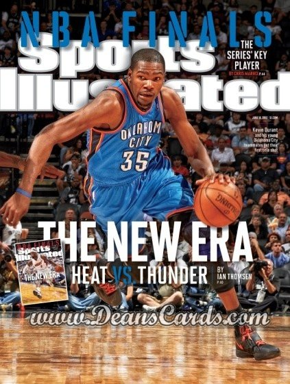 2012 Sports Illustrated   June 18  -  Kevin Durant / Oklahoma City Thunder / The New Era
