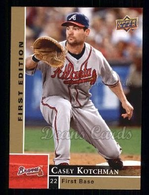 2009 Upper Deck First Edition #23  Casey Kotchman
