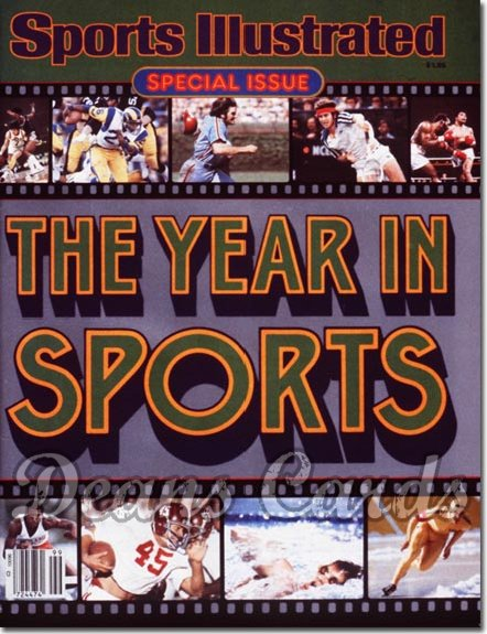 1980 Sports Illustrated - No Label   March 13  -  Year in Sports