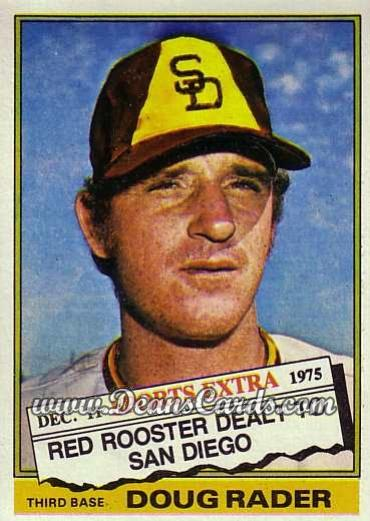 1976 Topps Traded #44 T Doug Rader