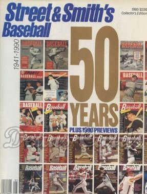 1990 Street & Smith's Baseball Yearbook    50 Year Anniversary
