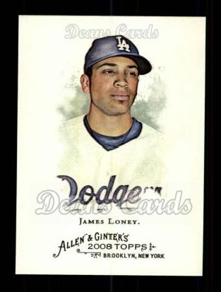 2008 Topps Allen & Ginter #18  James Loney