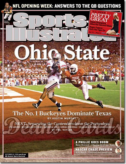 2006 Sports Illustrated   September 18  -  Ohio State Buckeyes v Texas Longhorns Sports