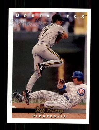 1993 Upper Deck #240  Jeff King