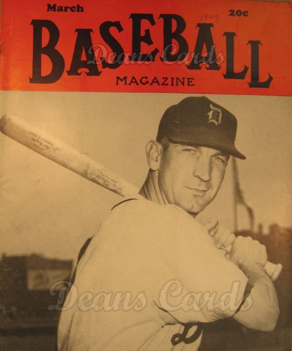 1949 Baseball Magazine    March