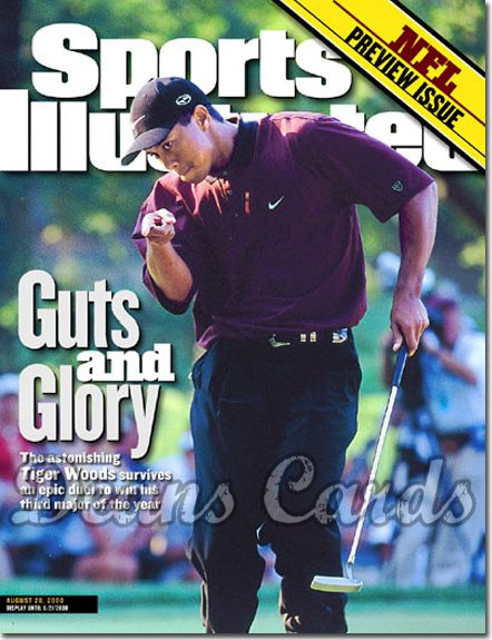 2000 Sports Illustrated   August 28  -  Tiger Woods