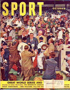 1950 Sport Magazine   -  World Series  October