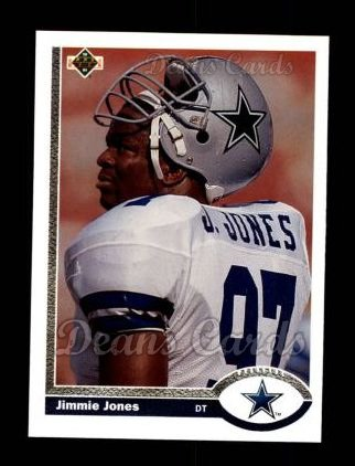 1991 Upper Deck #430  Jimmie Jones