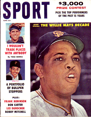 1961 Sport Magazine   -  Willie Mays  June