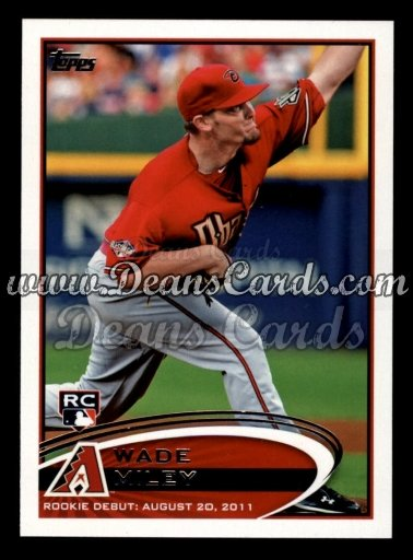 2012 Topps Update #5  Wade Miley